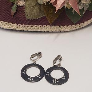 Vintage Bake Lite Style Dangle Earrings